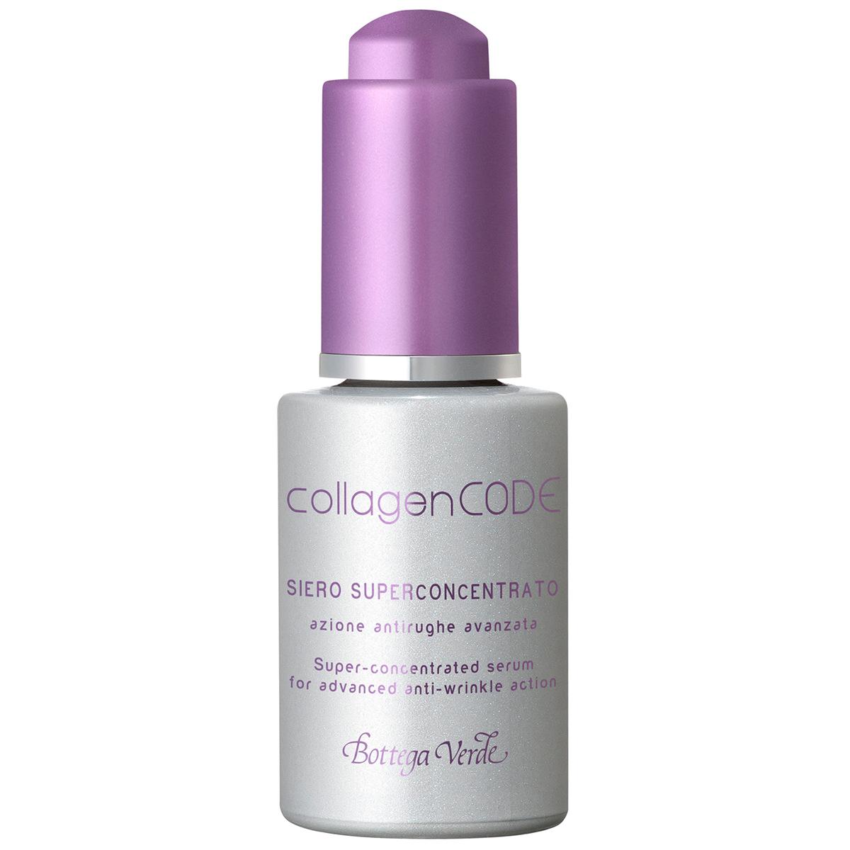 Collagencode - Ser Super-concentrat  Cu Actiune Antirid Avansata  Cu Colagen Vegetal Si Elastindefence ™ Hidratanta