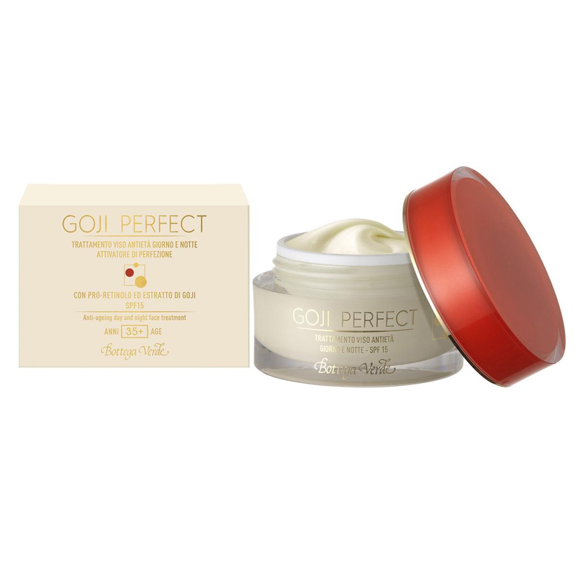 Goji Perfect - Tratament Pentru Fata Antirid  De Zi Si De Noapte Cu Pro-retinol Si Extract De Goji - Spf15 - Ani 35+