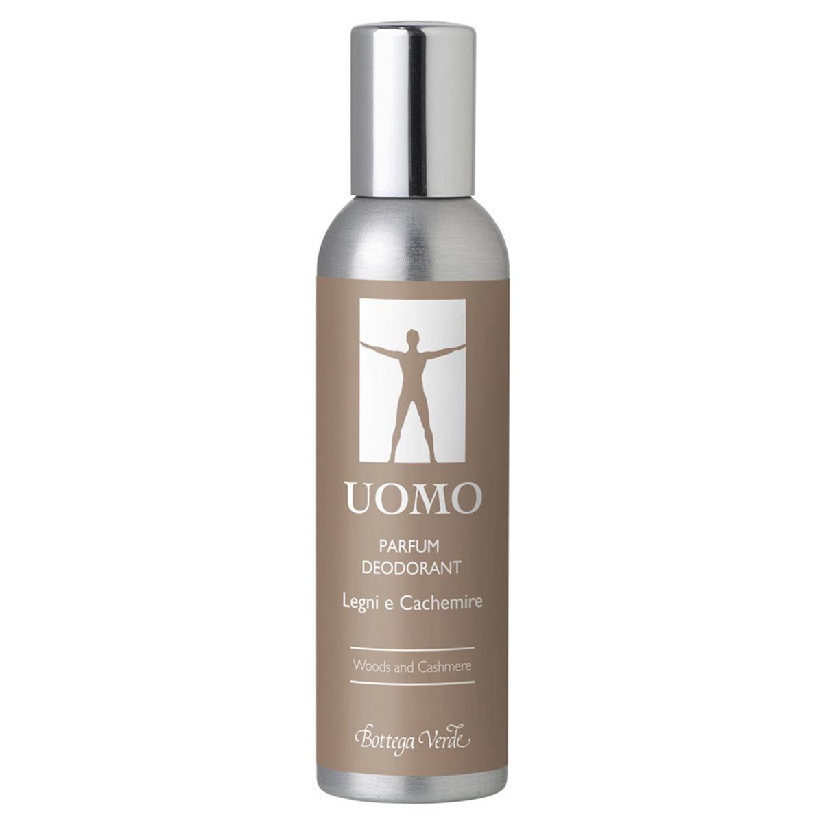 Uomo - Lemn Si Casmir  Parfum Deodorant Cu Extract De Abanos Si Mahon