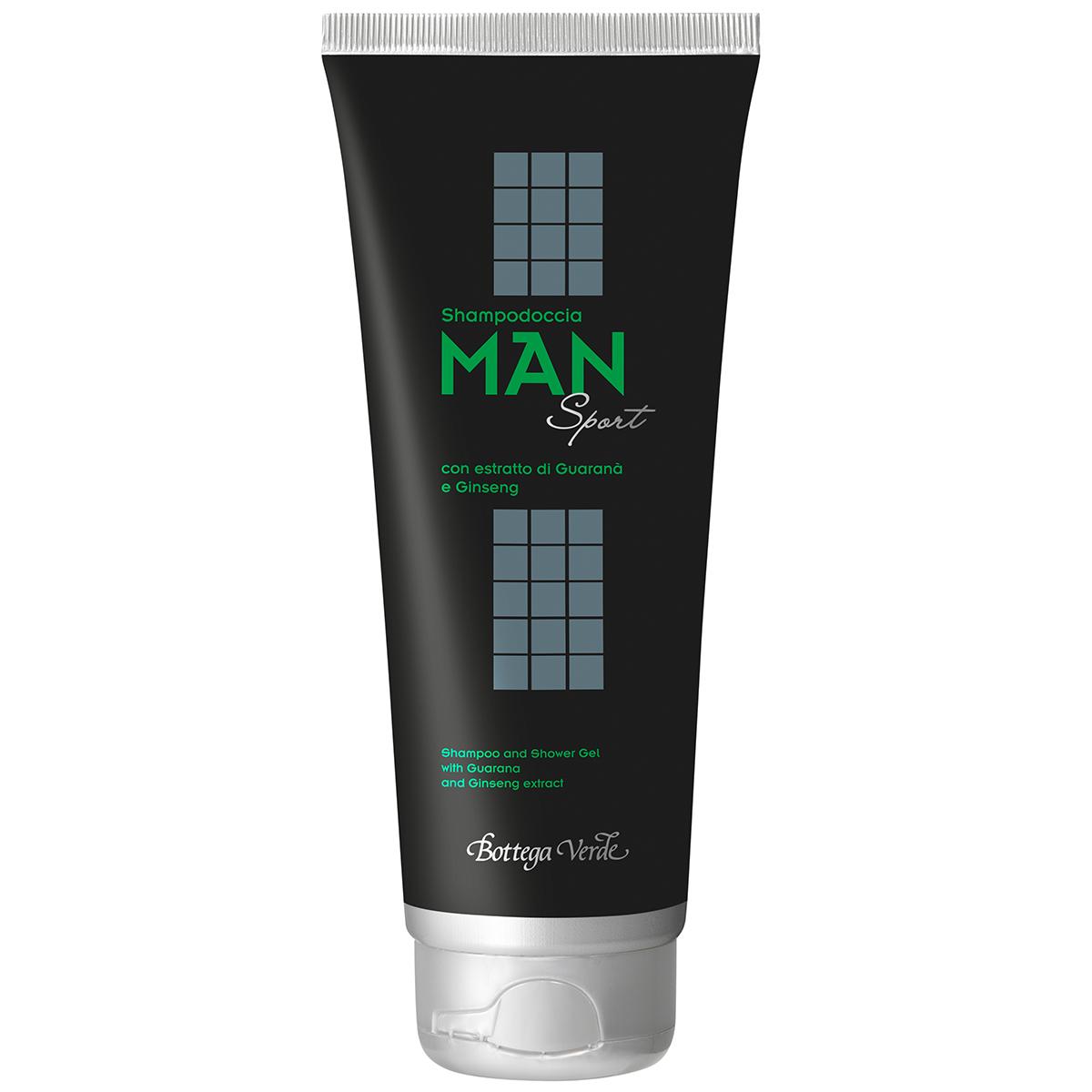 Man Sport - Sampon Cu Extract De Guarana Si Ginseng