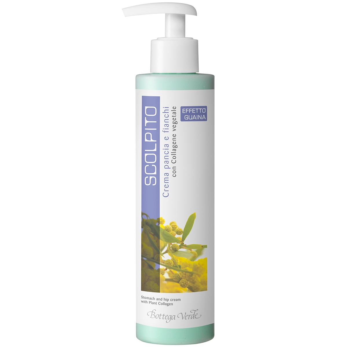 Scolpito - Crema Cu Colagen Vegetal Pentru Abdomen Si Solduri