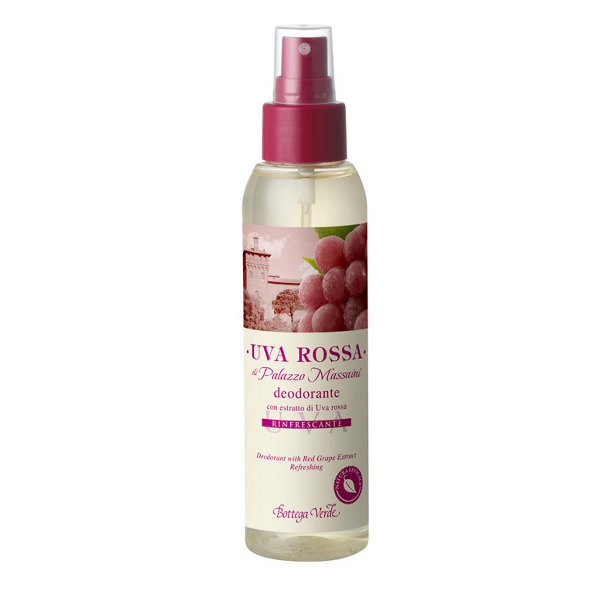 Struguri Rosii - Deodorant Cu Extract De Struguri Rosii - Racoritor