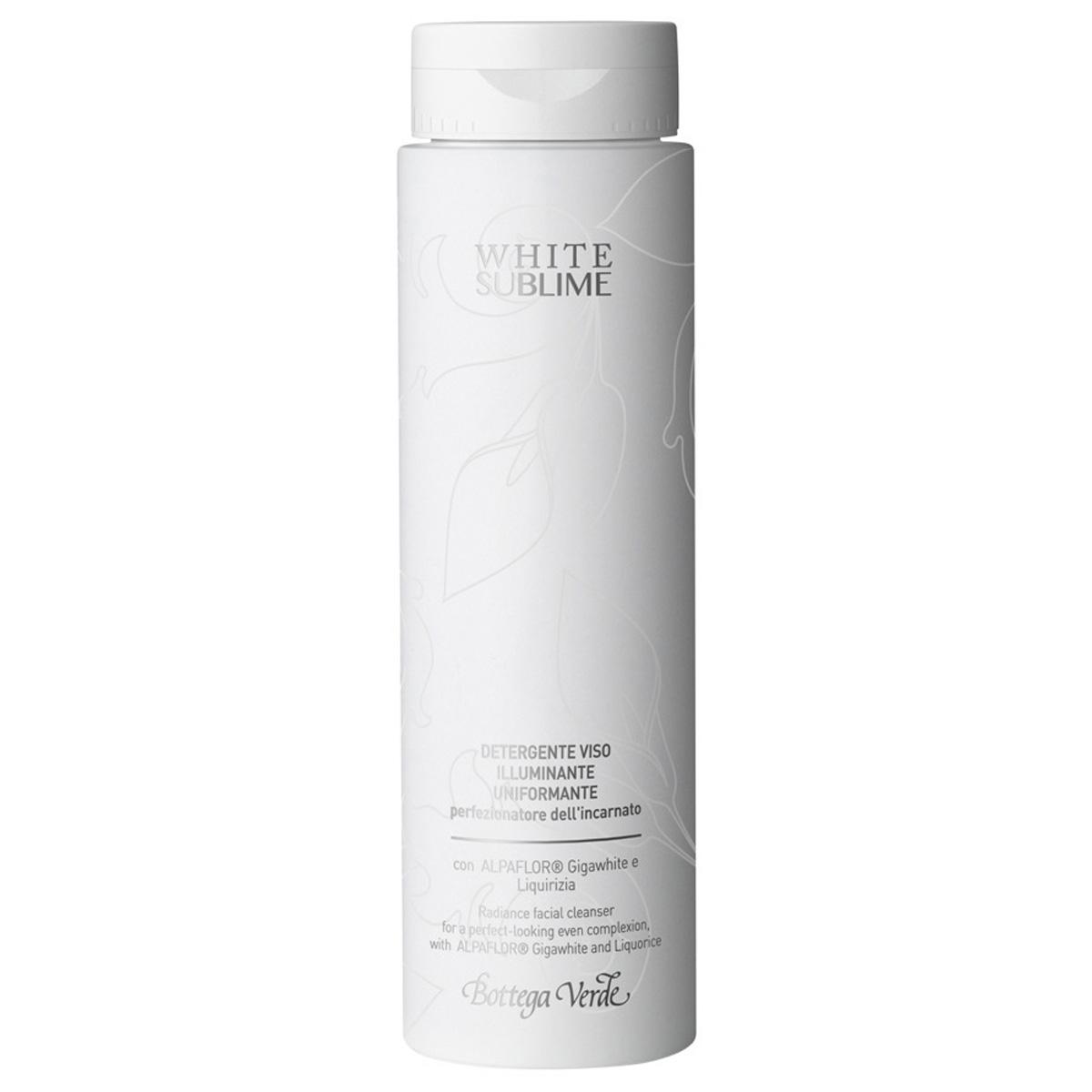 White Sublime - Demachiant Pentru Fata Iluminanat  Uniformizant  Cu Alpaflor® Gigawhite Si Lemn Dulce