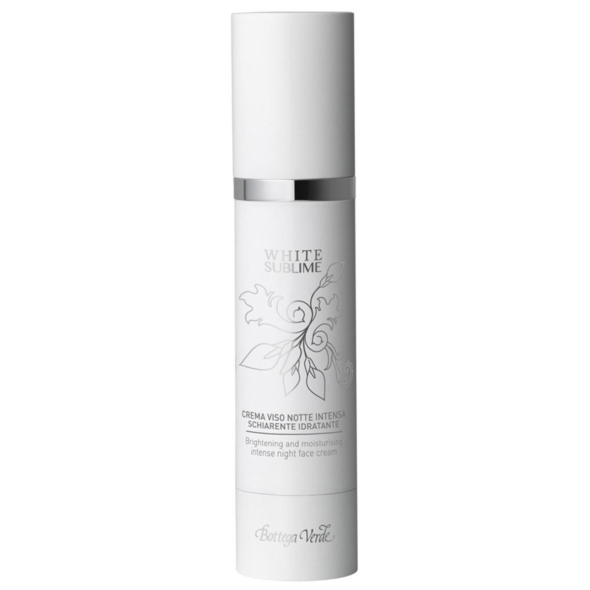 White Sublime - Crema Inalt Hidratanta  Cu Alpaflor® Gigawhite  Acid Hialuronic Si Lemn Dulce - Crema De Fata De Noapte