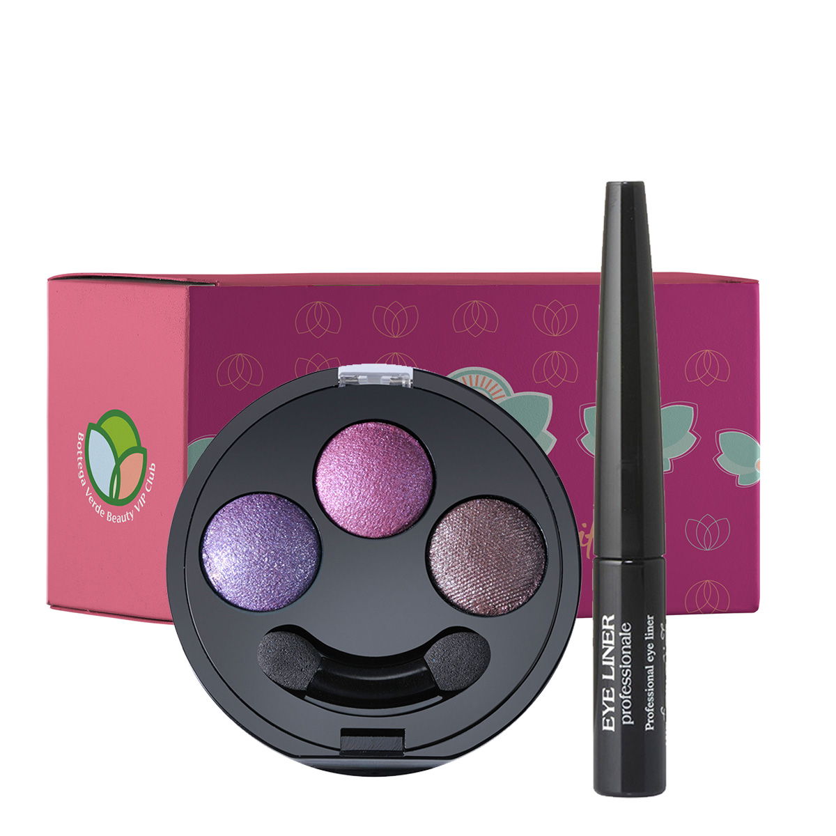 Set make-up trio nuante roz