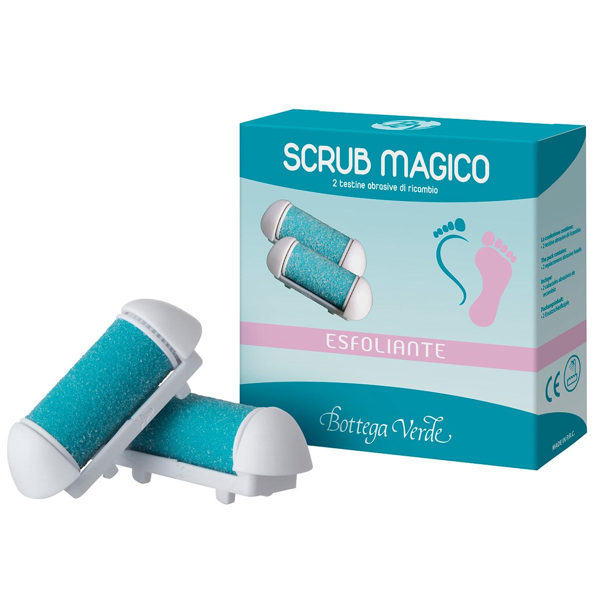 Picioare sanatoase - Scrub Magic - 2 rezerve de capete abrazive