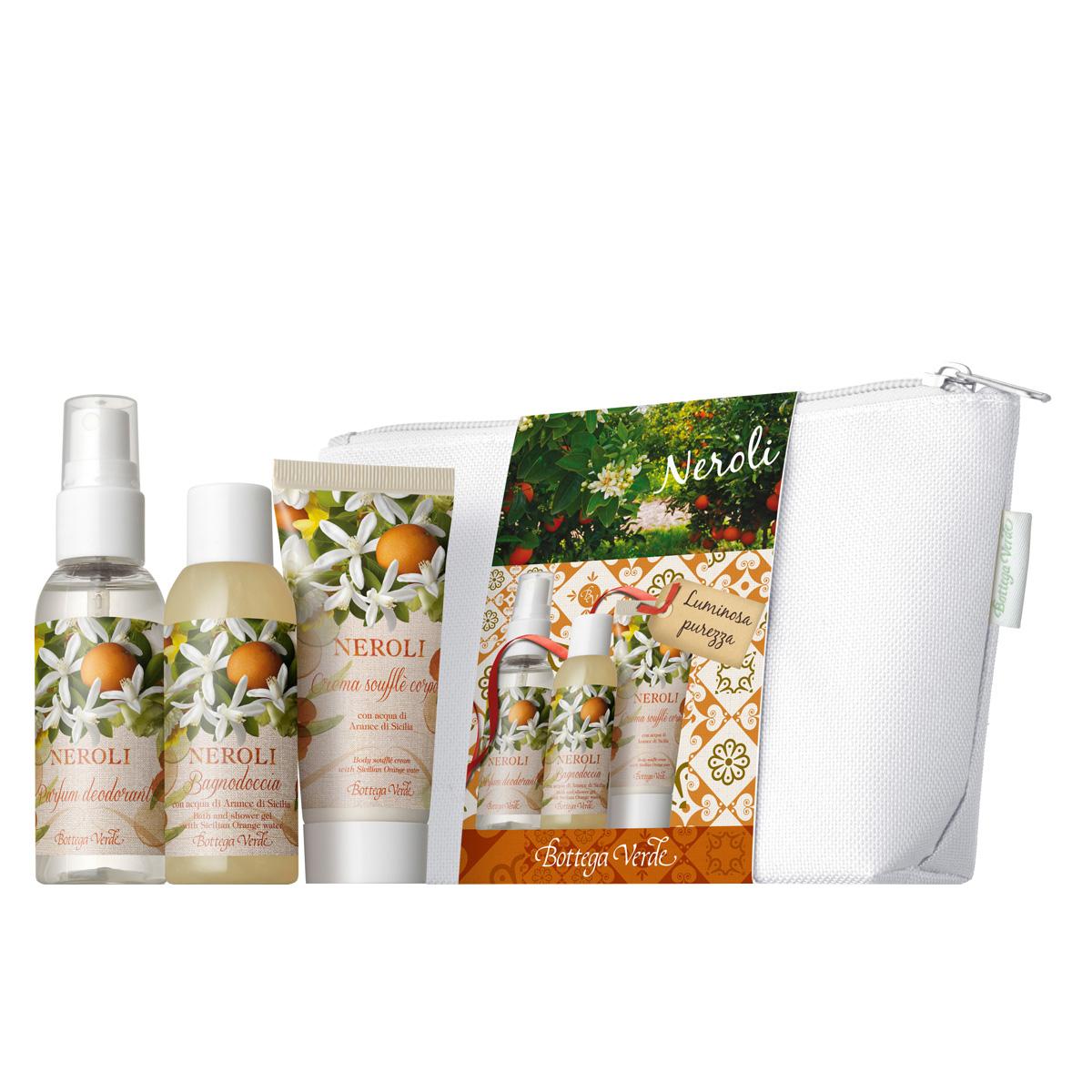 Set 3 produse mini cu aroma de flori de portocal - Neroli