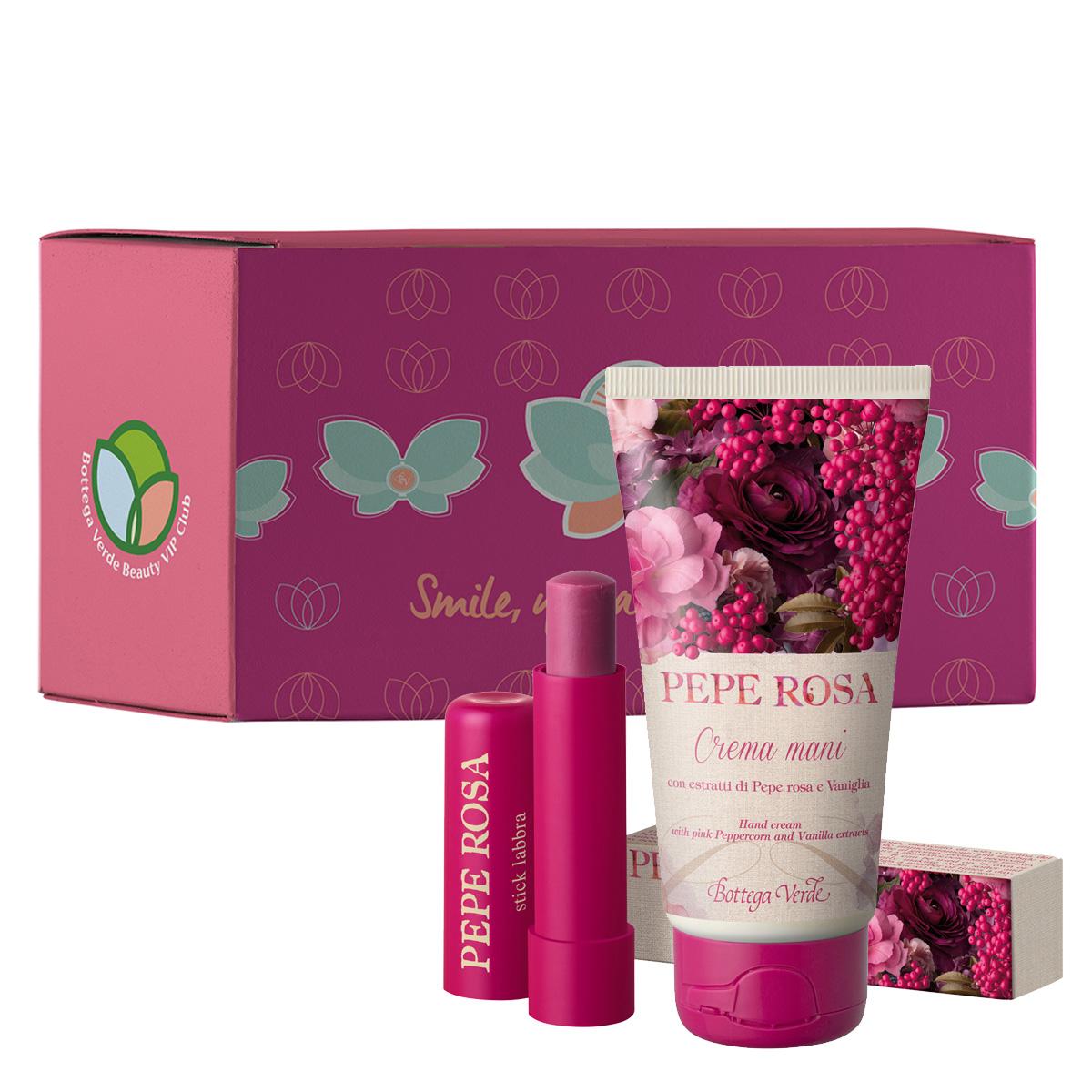 Set hidratare cu extract de piper roz