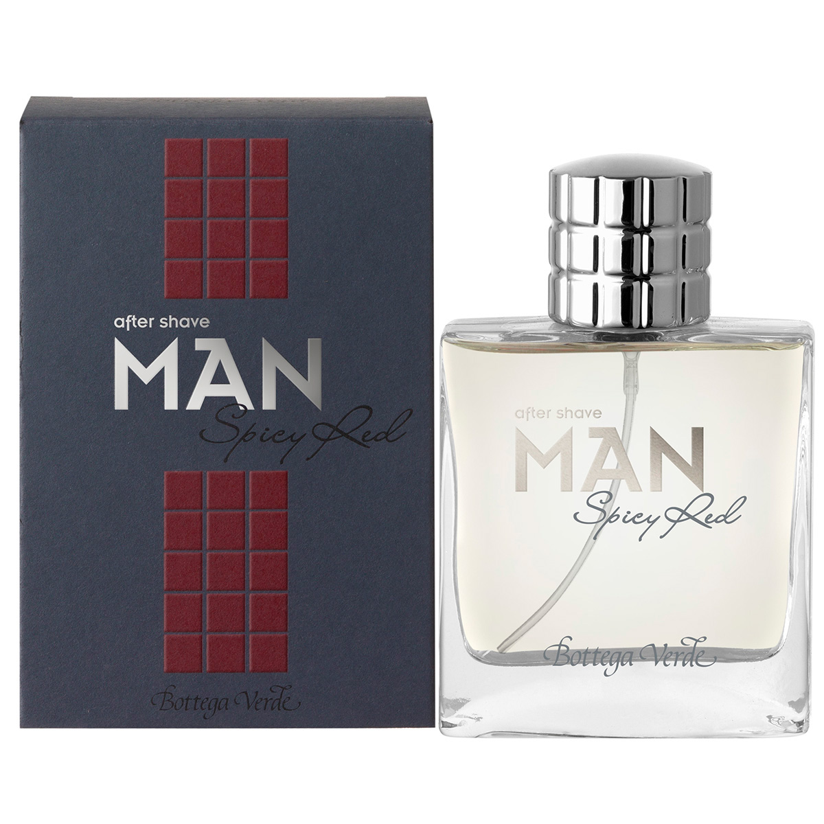After shave Spicy red - Man, 50 ML