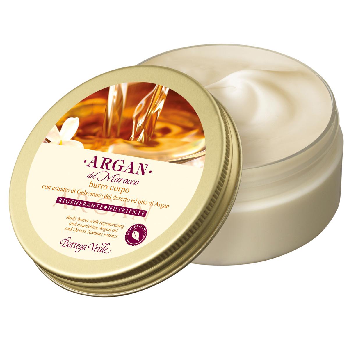 Argan de Maroc - Unt de corp cu extract de iasomie din desert si ulei de argan regenerator si hranitor