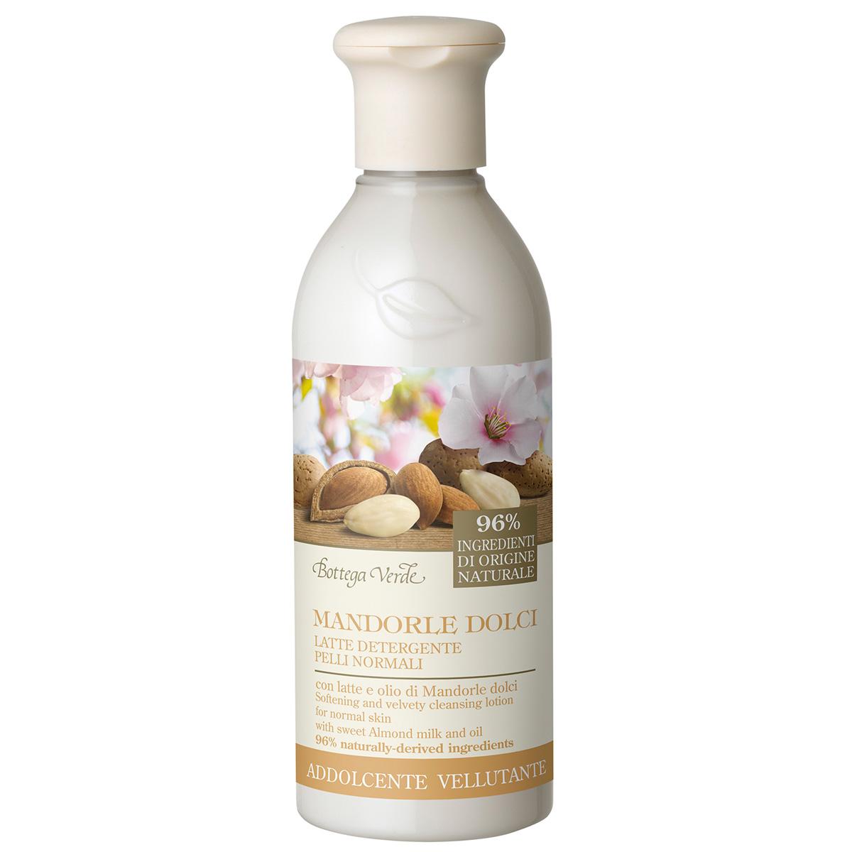 Migdale Dulci - Lapte demachiant, ten normal, linistitor si catifelat, cu lapte de migdale dulci si ulei