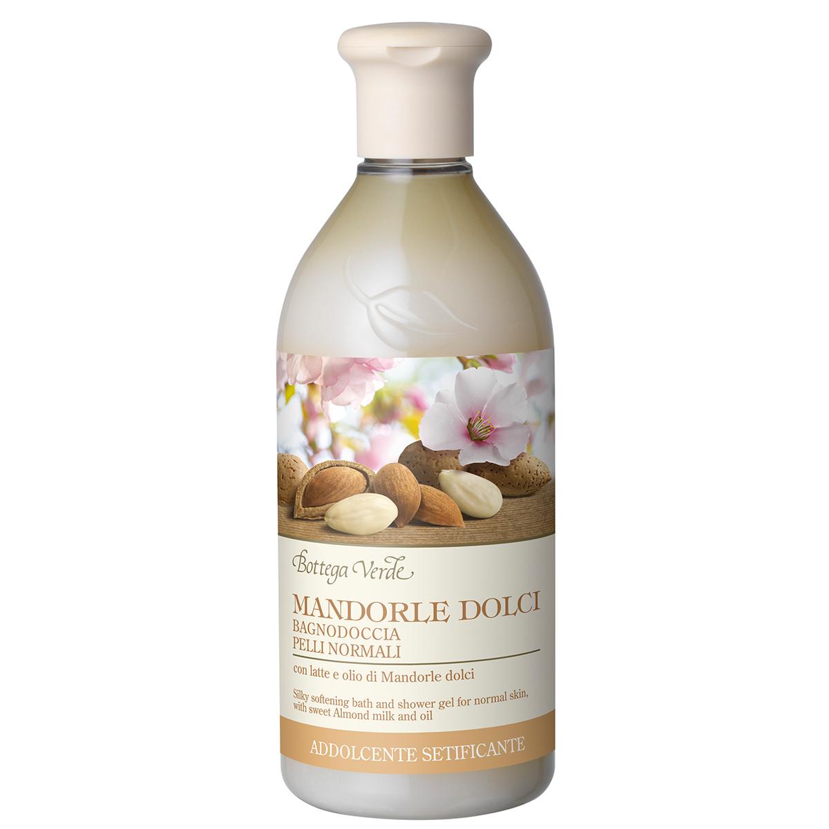 Migdale Dulci - Gel De Dus Pentru Piele Normala - Hidratateaza Si Catifeleaza - Cu Lapte Si Ulei De Migdale Dulci