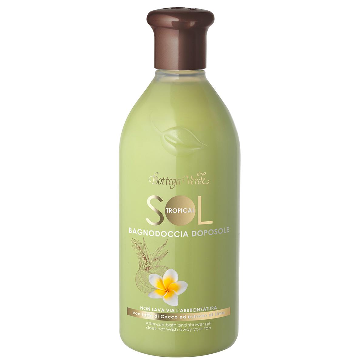 Protectie Solara - Gel de dus dupa expunerea la soare - prelungeste durata bronzului - cu lapte de cocos si extract de lime
