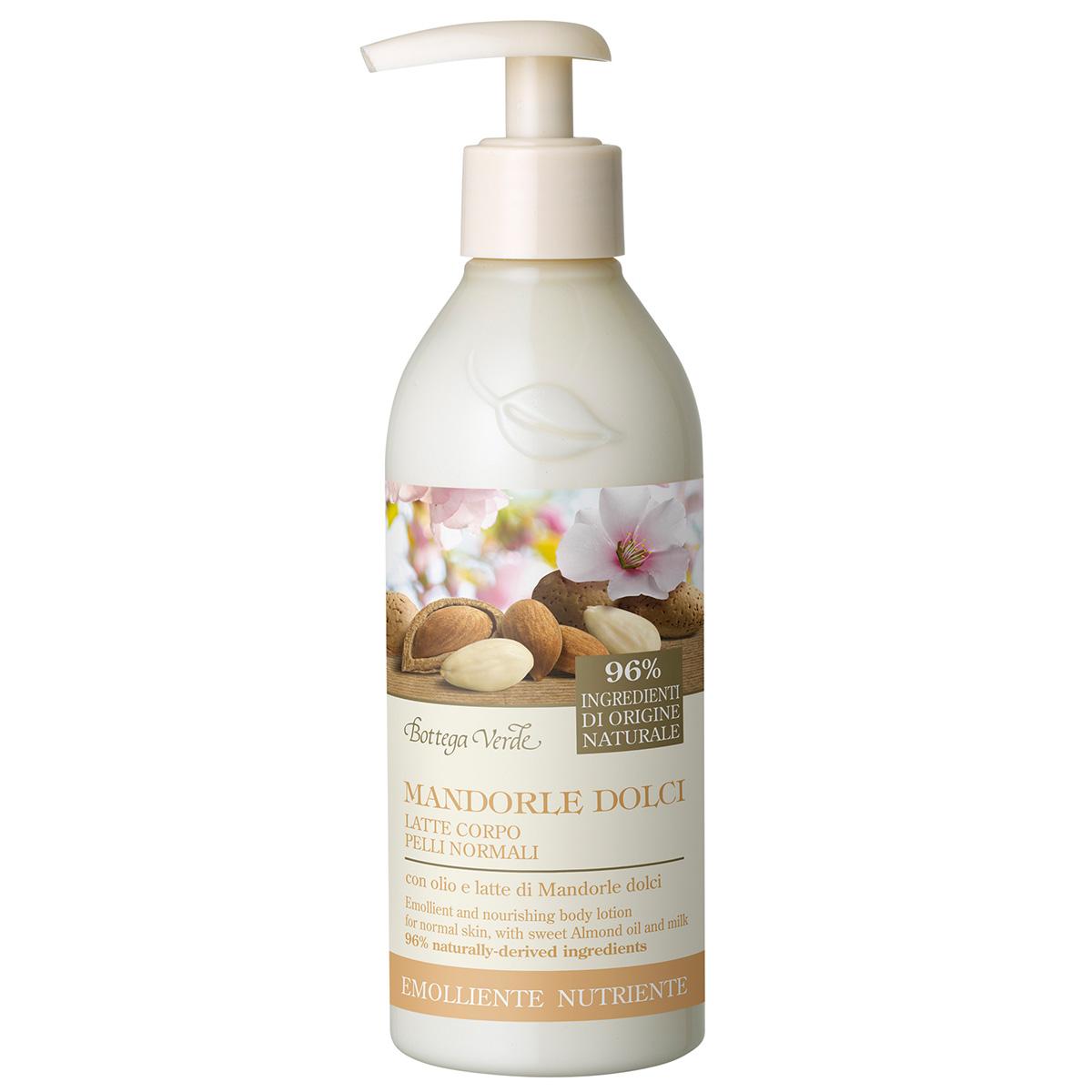 Migdale Dulci - Lapte de corp pentru piele normala, nutritiva si emolienta, cu ulei si lapte de migdale dulci
