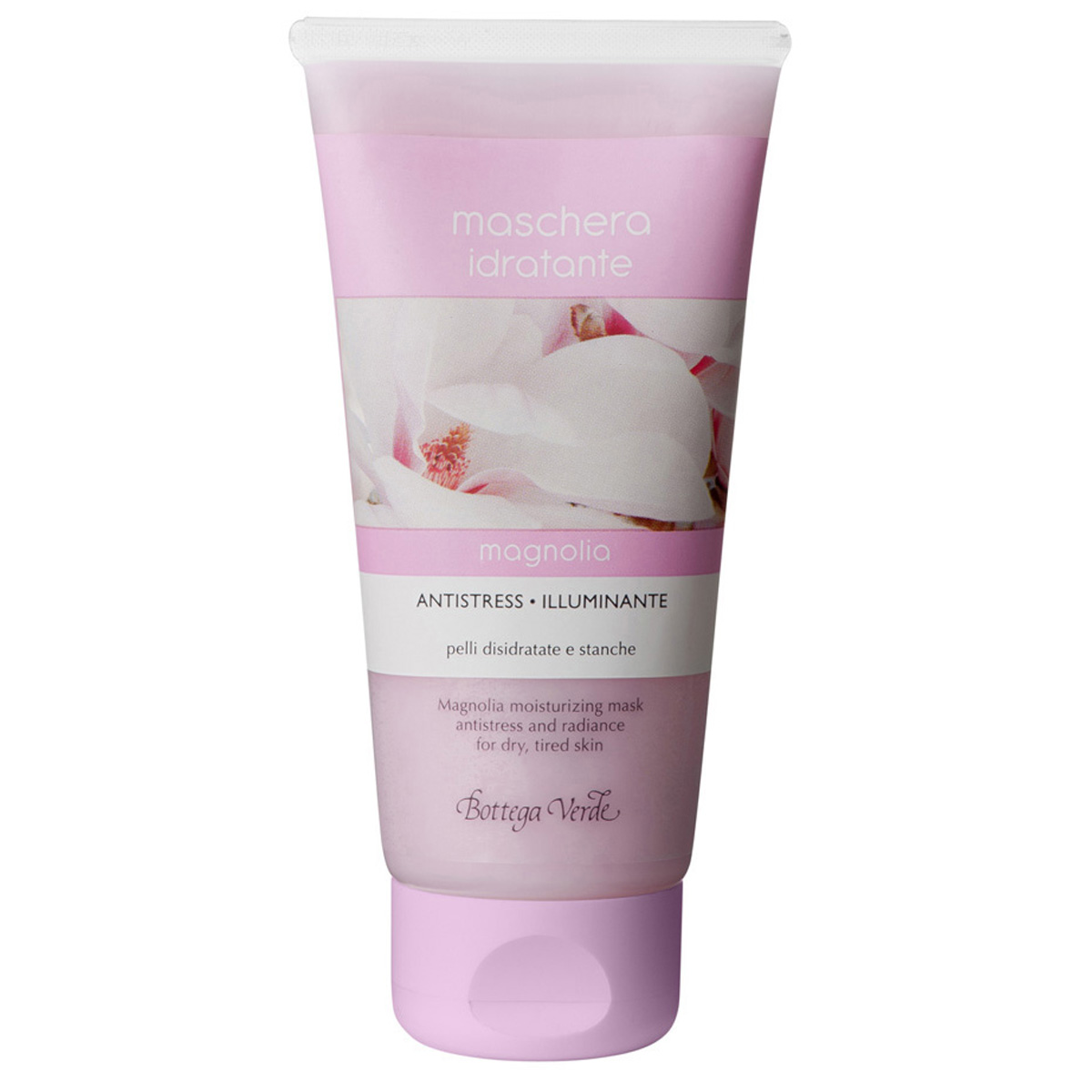 Masca Hidratanta Magnolia - Antistres - Pentru Piele Deshidratata Si Obosita