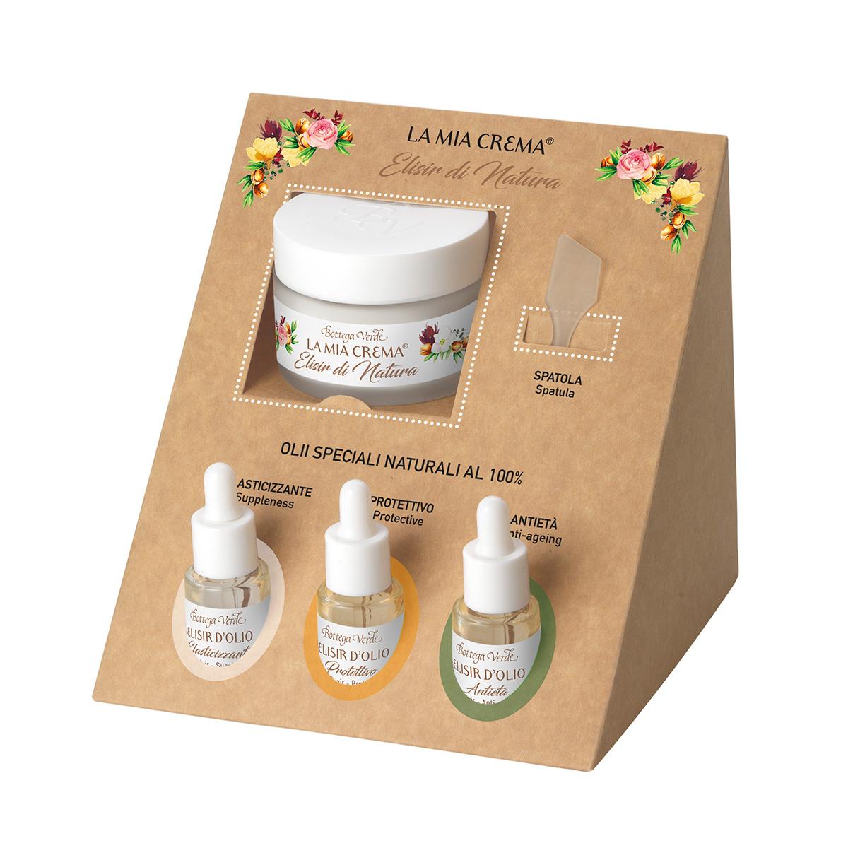 La mia crema Elisir di Natura - Crema tratament + Elixir din uleiuri naturale