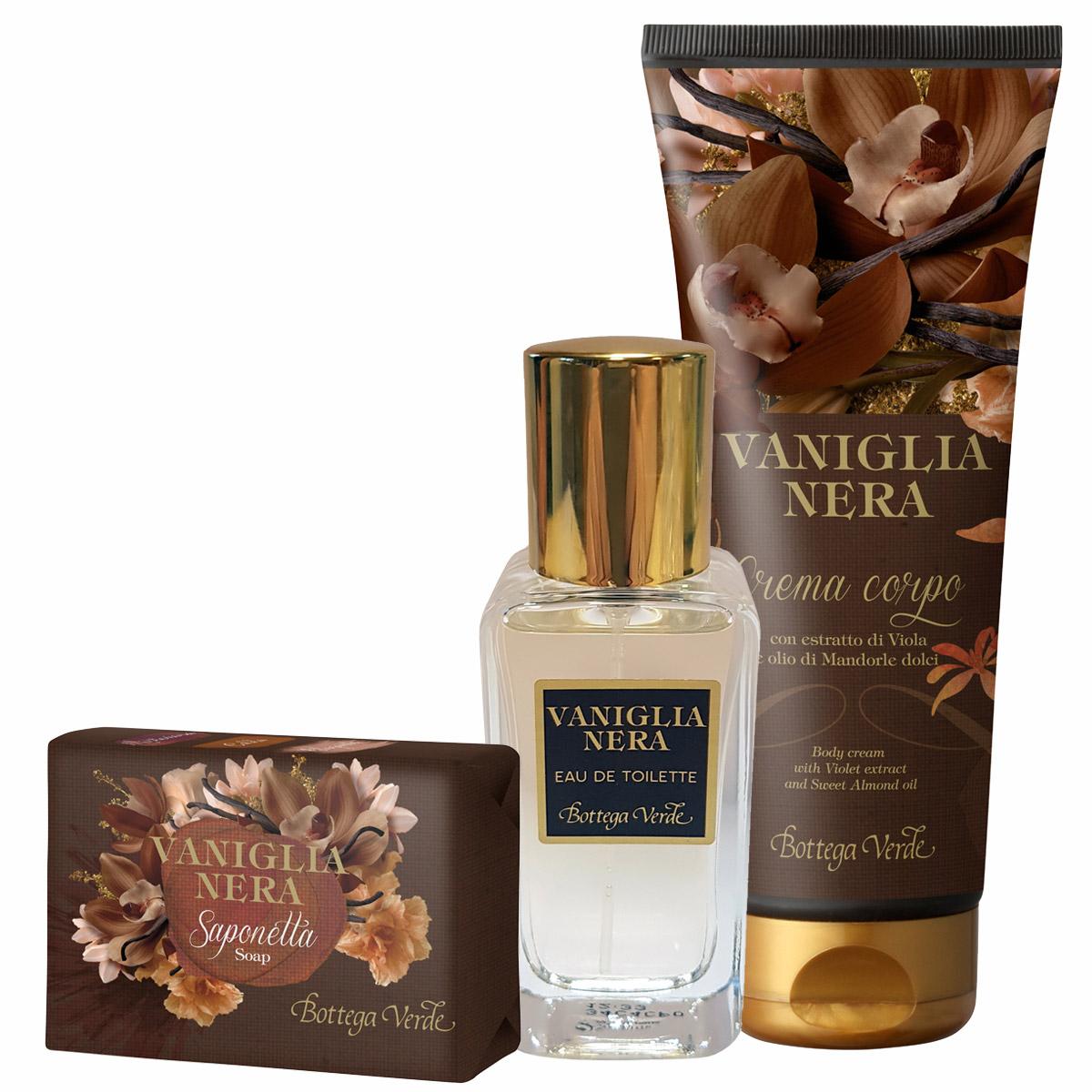 Set cu extract de vanilie neagra