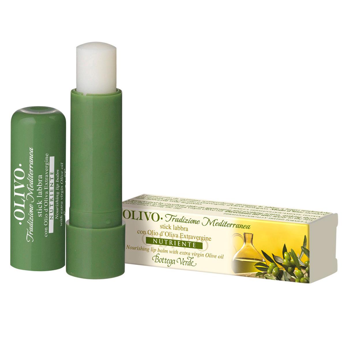 Balsam de buze cu ulei de maslin extravirgin, incolor - Olivo, 5 ML