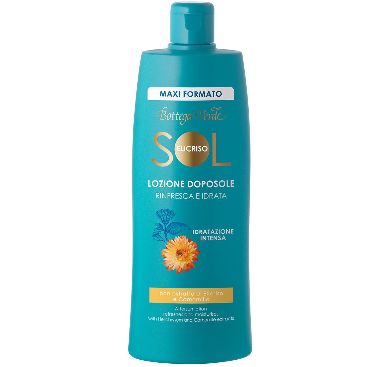 Protectie Solara - Lotiune dupa plaja - reimprospateaza si hidrateaza - cu extract de Helichrysum si Musetel