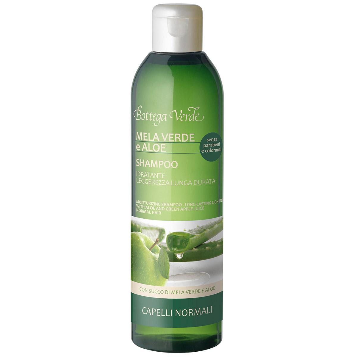 Sampon Hidratant Cu Extract De Aloe Si Mar Verde