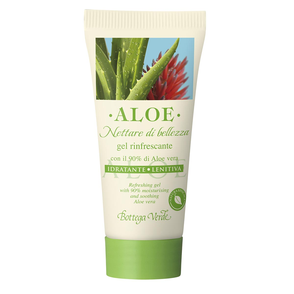 Mini gel de corp cu aloe