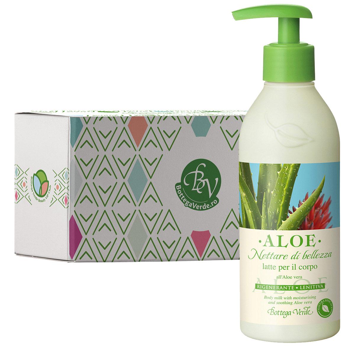 Lapte De Corp Hidratant Cu Extract De Aloe Vera In Cutie Cadou