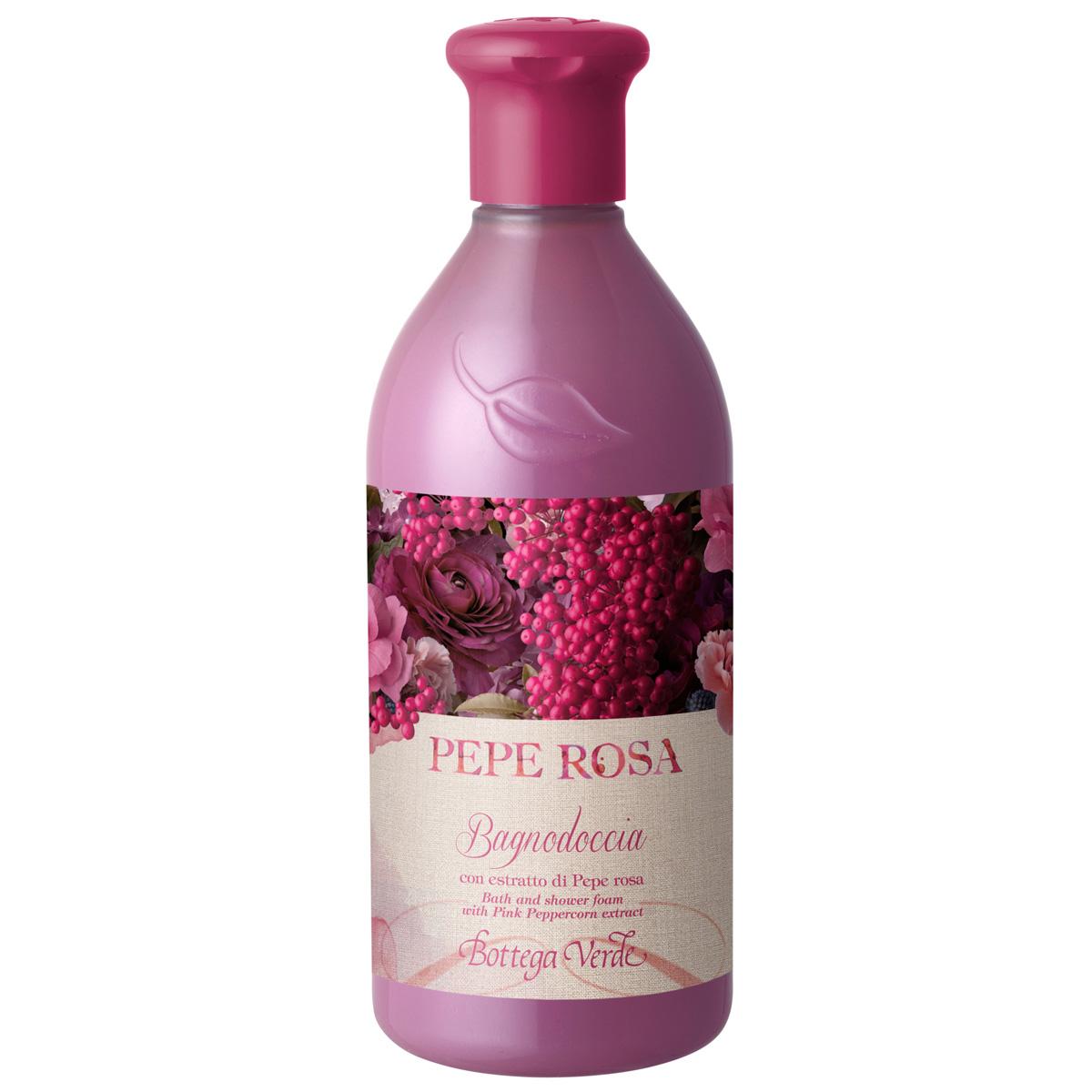 Pepe rosa – Gel de dus cu extract de piper roz