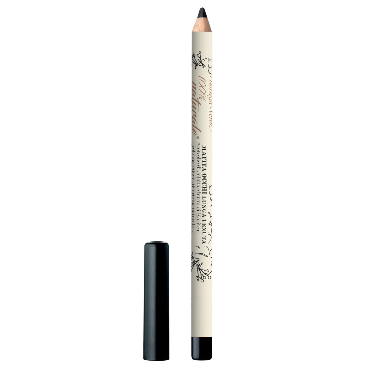 Creion de ochi de de lunga durata cu extract de unt de shea si unt de jojoba., negru - 100% natural