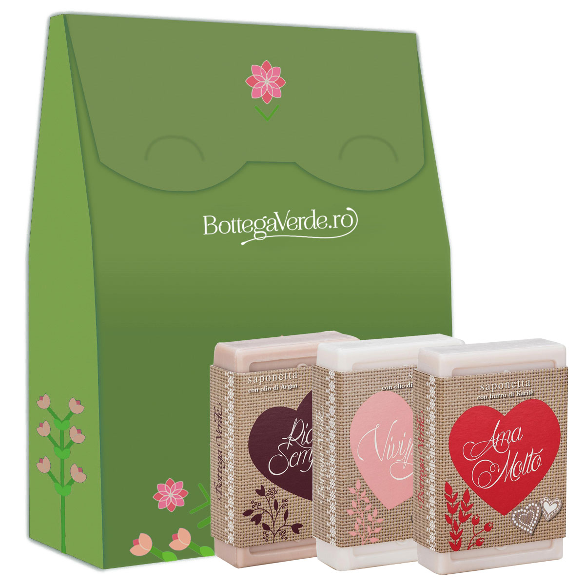 Set cadou sapun solid imagine