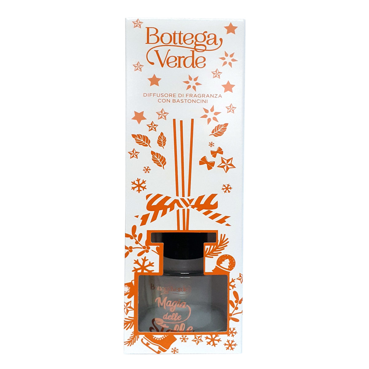 Difuzor de parfum cu aroma de bergamota si patchouli - Magia delle stelle, 100 ML