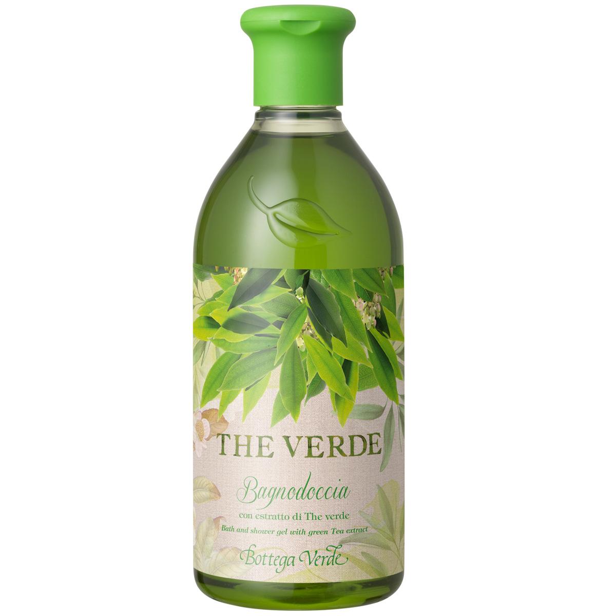 Ceai verde - Gel de dus cu extract de ceai verde