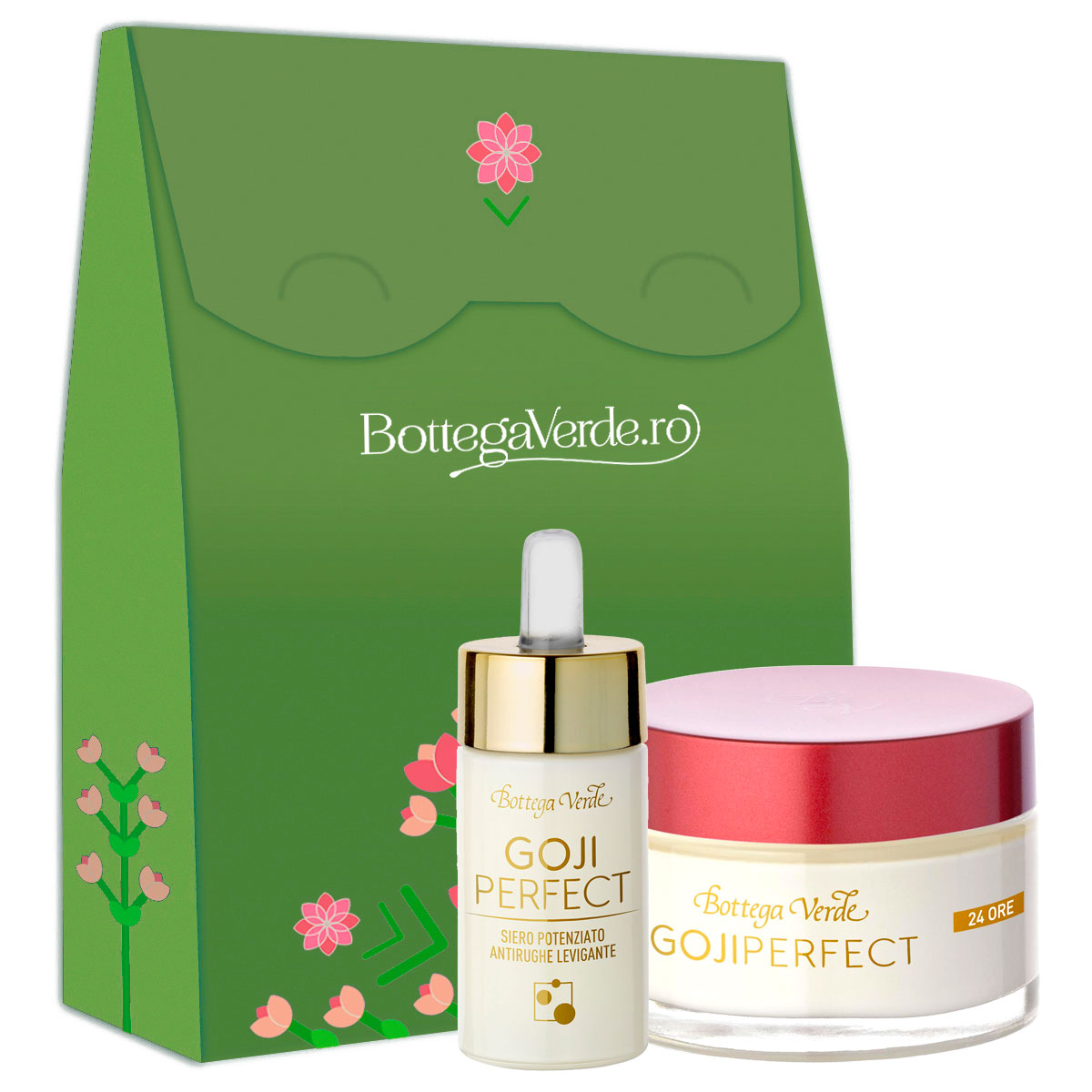Set tratament ten Goji Perfect, 50 ML + 30 ML