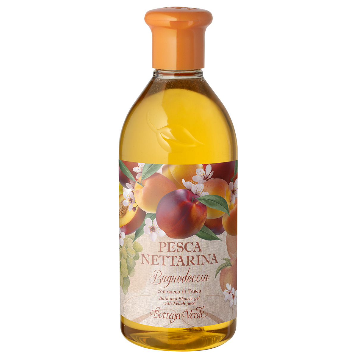 Gel De Dus Cu Aroma De Nectarine