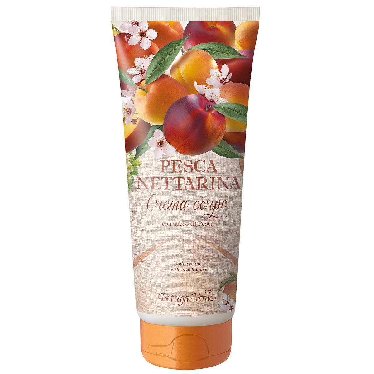 Nectarina - Crema De Corp Cu Suc De Nectarine
