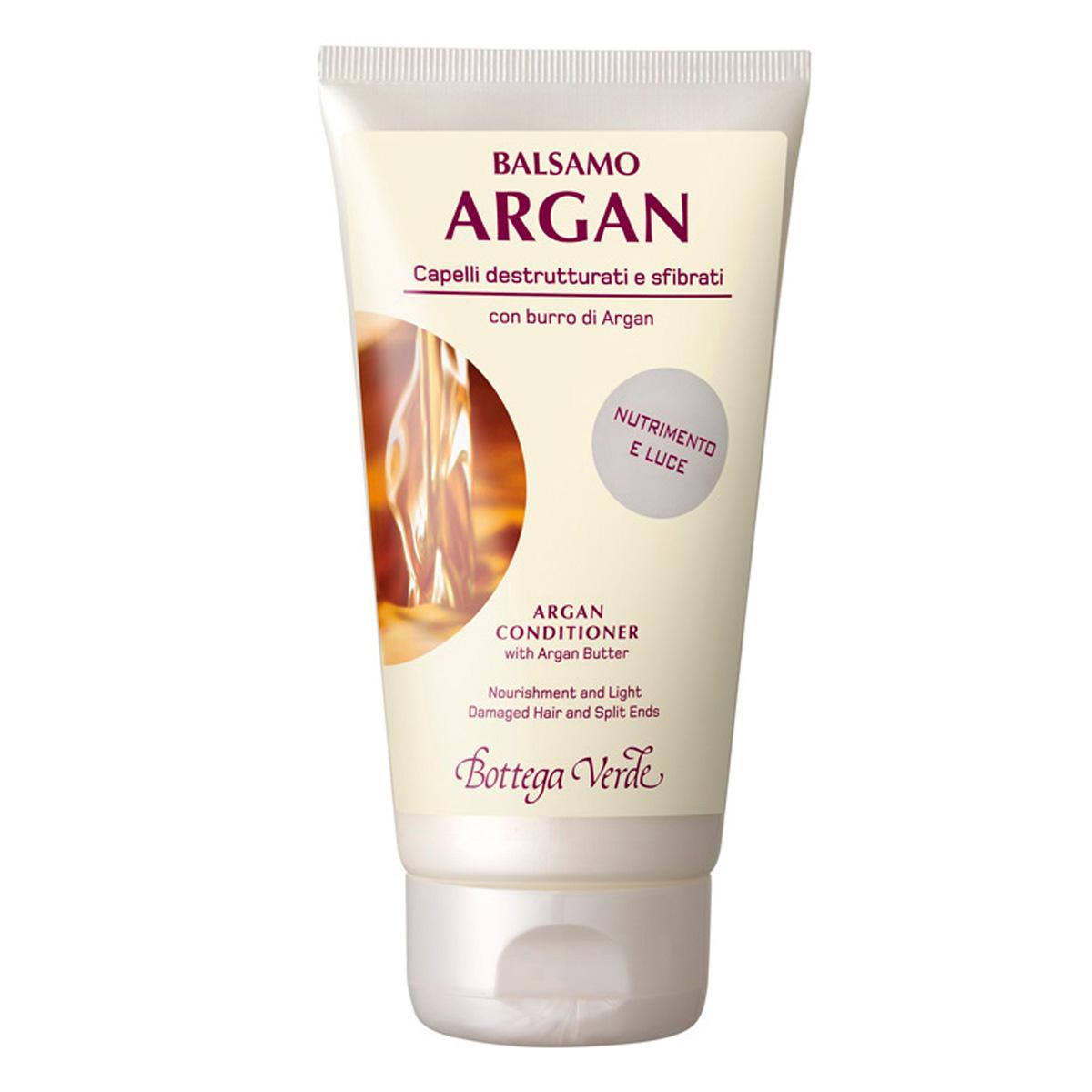 Balsam de par cu unt de argan pentru parul fragil - Argan del Marocco, 150 ML