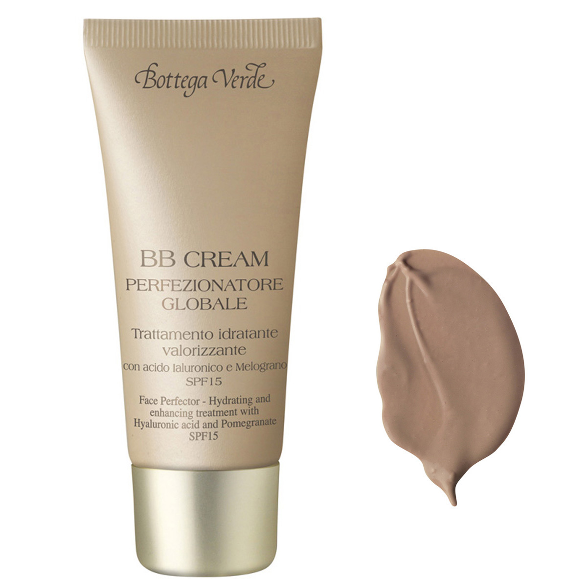 Bb Cream - Un Produs Universal - Tratament Hidratant Cu Acid Hialuronic Si Rodie  Spf15 - Natural