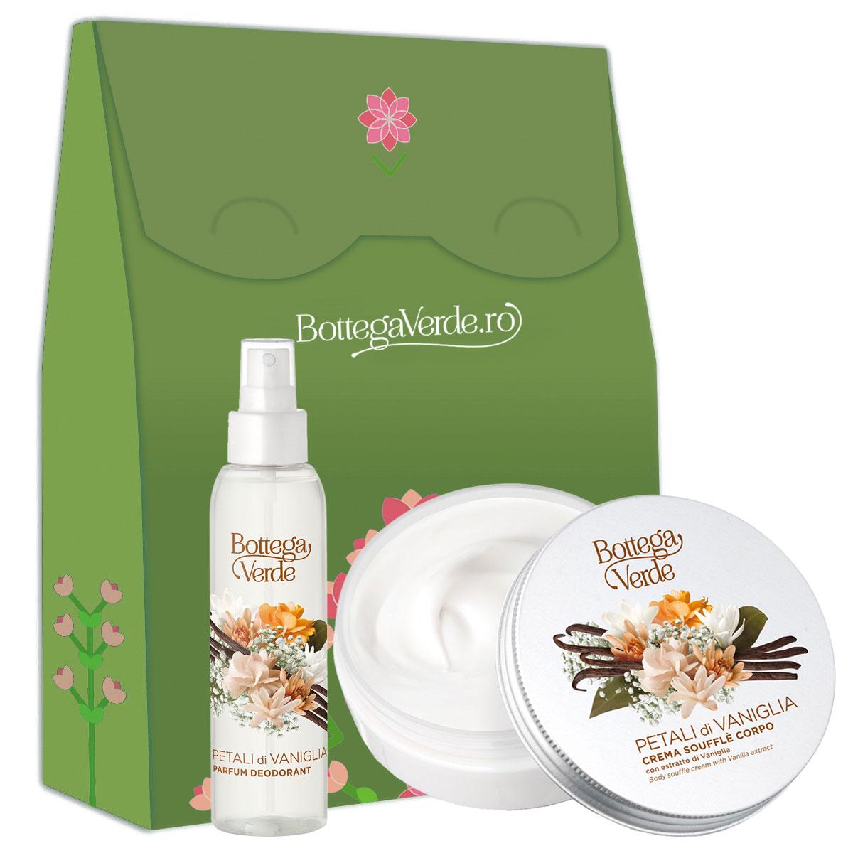 Set cadou femei ingrijire corp cu aroma de vanilie imagine