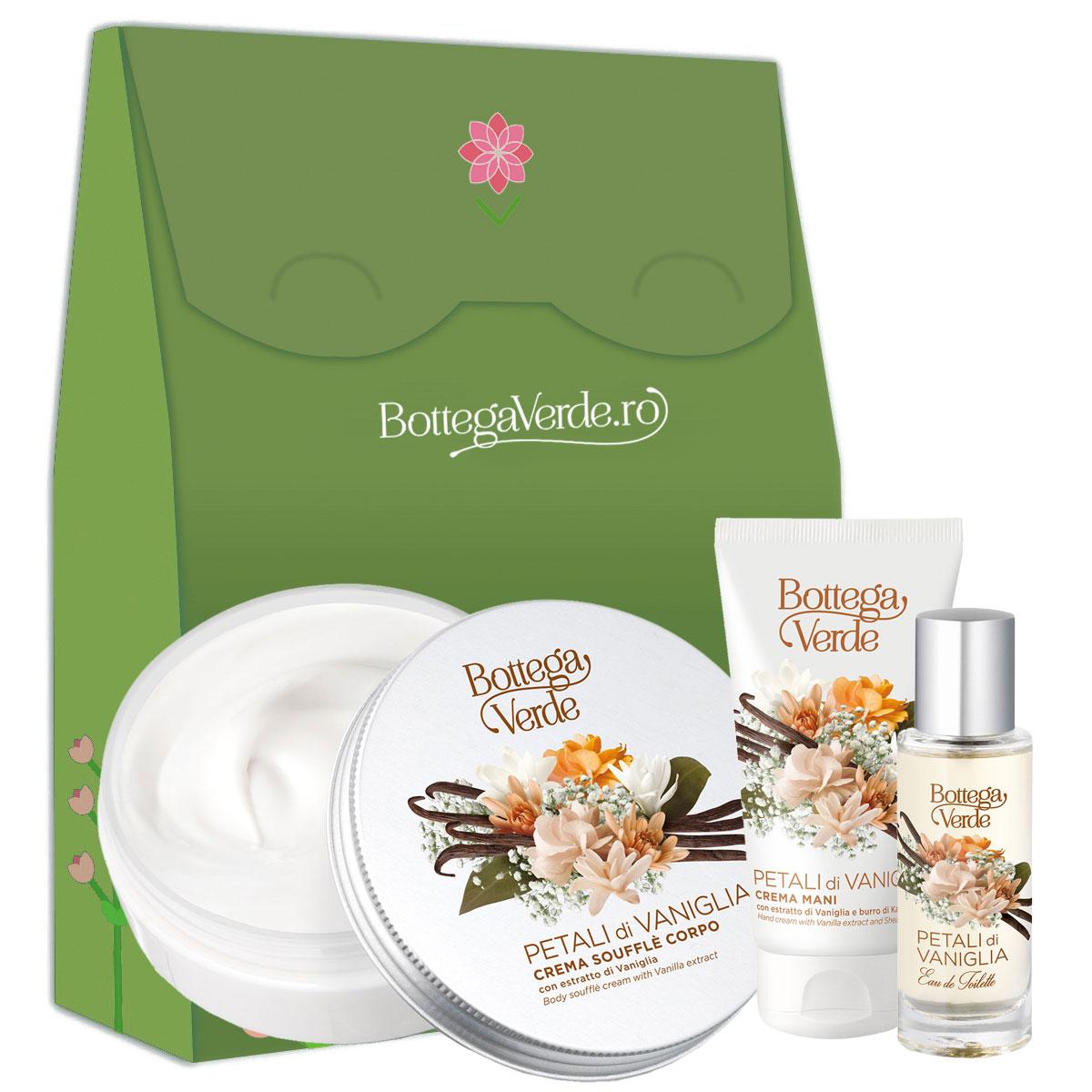 Set cadou femei hidratare cu aroma de vanilie imagine