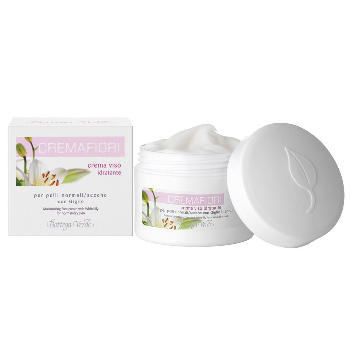 Crema hidratanta cu crin alb pentru ten normal si uscat - Cremafiori, 50 ML