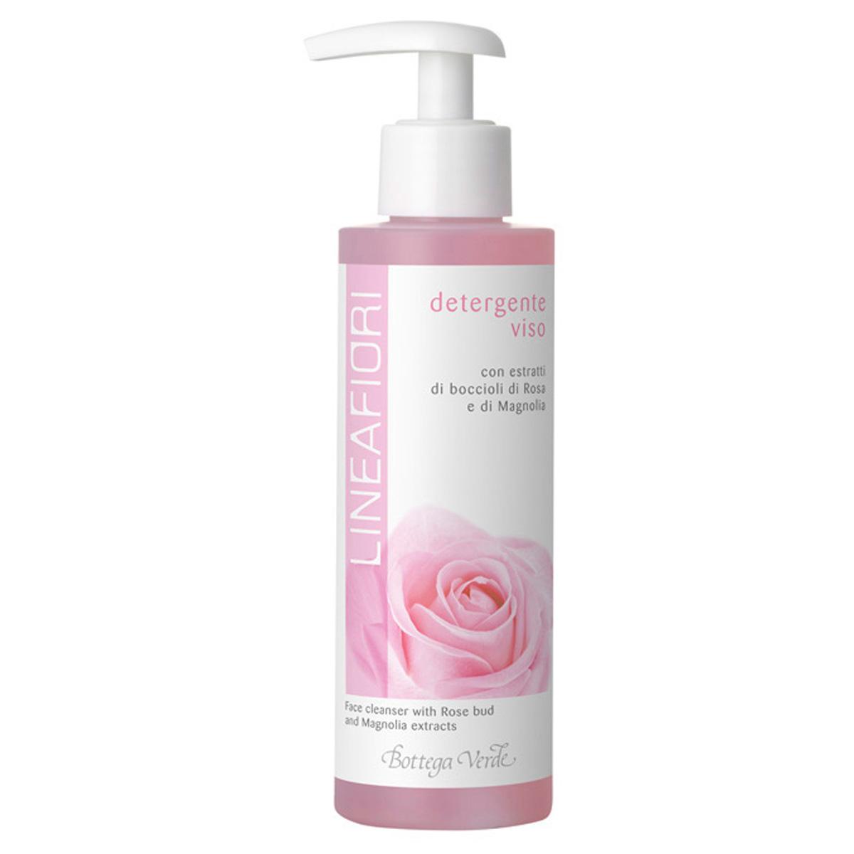 Linea Fiori - Demachiant pentru fata cu extract din muguri de trandafir si magnolie