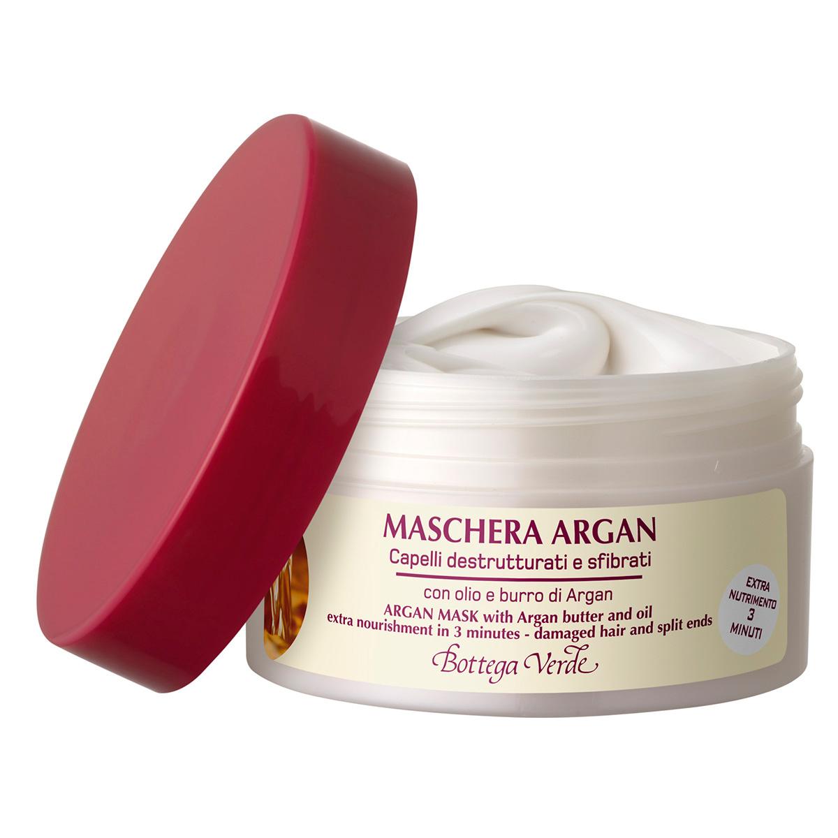 Argan de Maroc - Masca cu ulei si unt de argan regenerator si hranitor pentru par deteriorat si fragil (efect rapid in 3 minute)