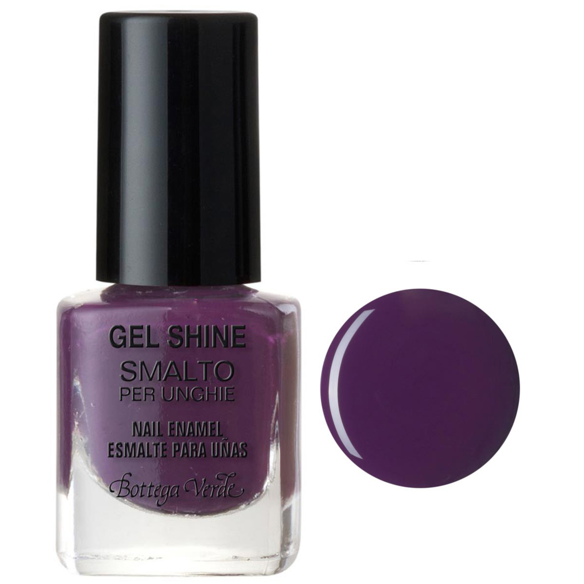 Lac de unghii, violet lucios - Gel Shine, 5 ML