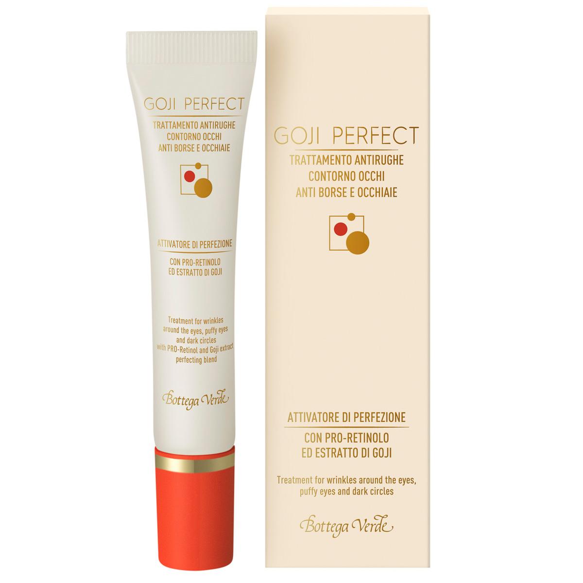 Goji perfect - Tratament antirid pentru zona din jurul ochilor, anticearcan cu PRO-Retinol si extract de Goji