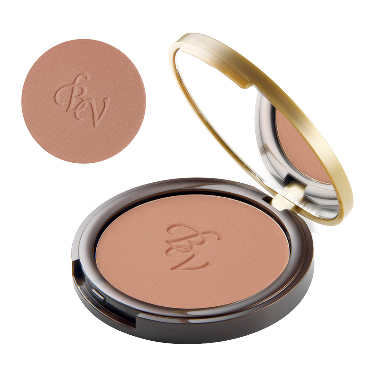 Pudra compacta bronzanta, cu extract de camelie si de vitamina E imagine produs
