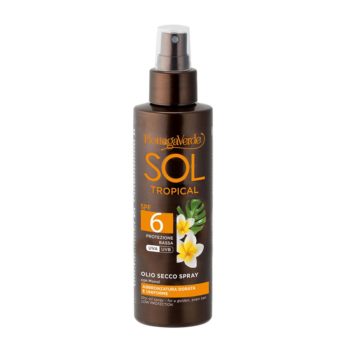 Ulei bronzant, cu ulei de Monoi, SPF 6 imagine