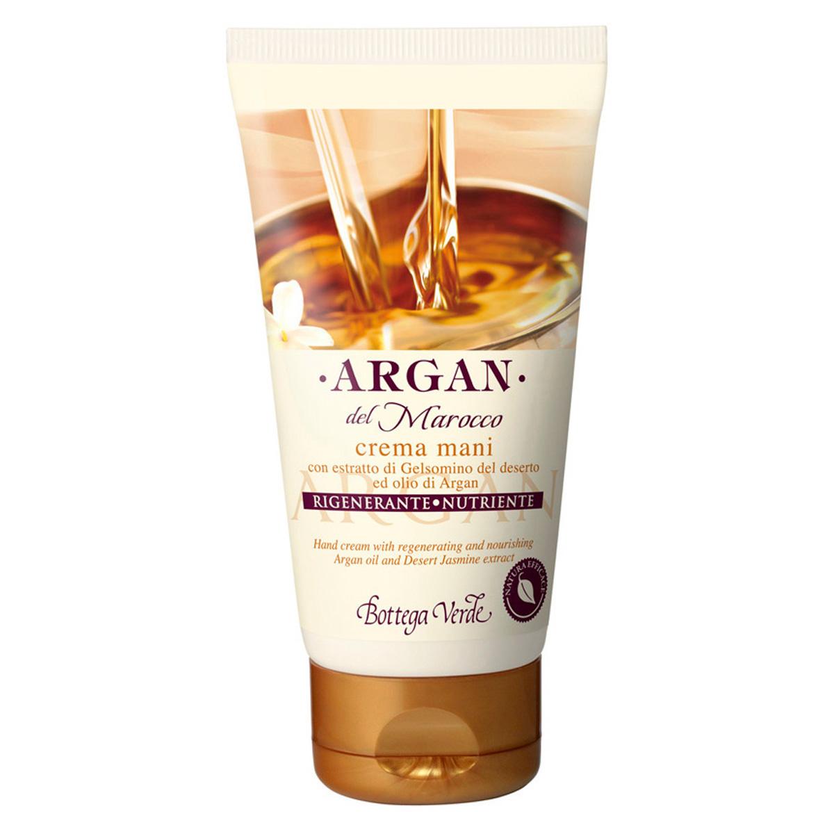 Argan de Maroc - Crema de maini cu extract de iasomie din desert si ulei de argan regenerator si hranitor