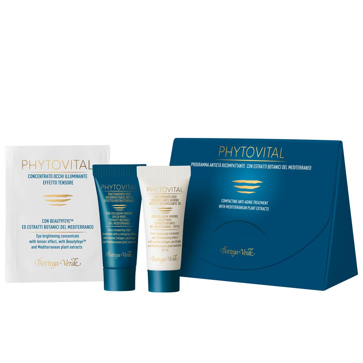 Set cadou - Tratament anti-aging cu extracte din plante mediteraneene Phytovital - Phytovital, 5 ML