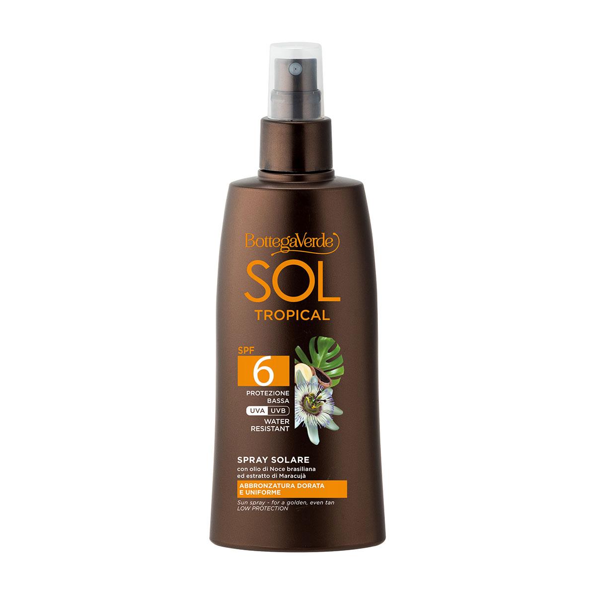 Spray bronzant, cu ulei de nuci braziliene si extract de fructul pasiunii, SPF 6 imagine