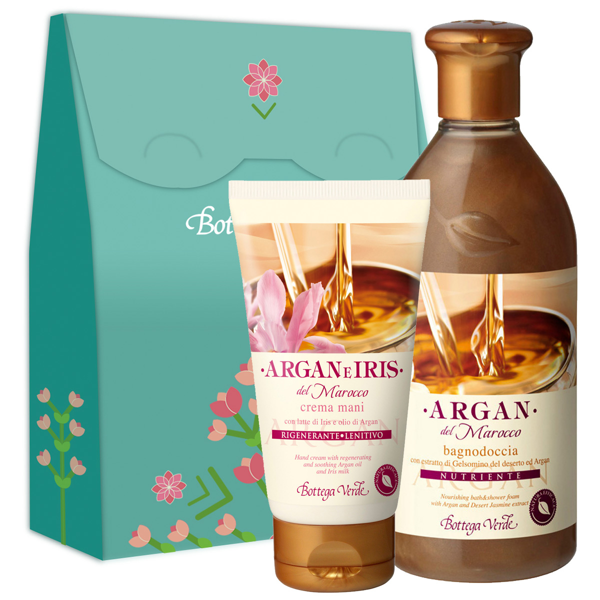 Set Argan si Iris - Argan e Iris, 75 ML + 400 ML