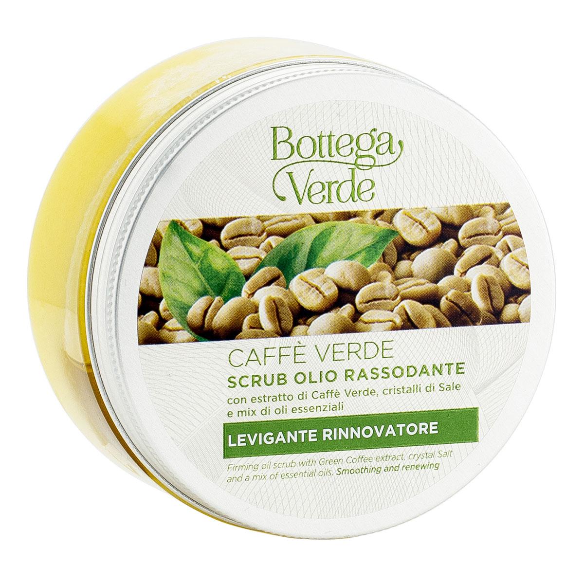 Scrub anticelulitic cu extract de cafea verde si mix de uleiuri esentiale - Caffè Verde, 200 ML
